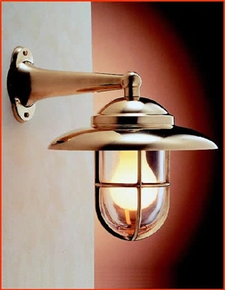 Picture of Side-Arm wall light with grille