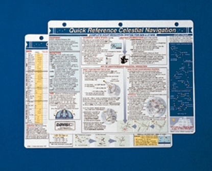 Picture of Quick reference card - Celestial Navigation