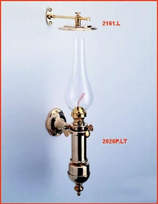 Picture of Gimbal oil Lamp - overall height 520 mm