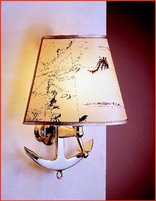 Picture of Electric Anchor wall lamp