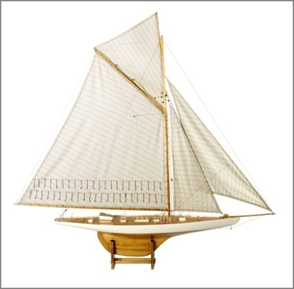 Picture of America's Cup Columbia 1901 - large, ivory