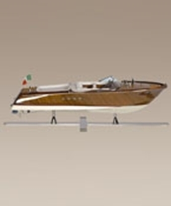 Picture of Riva Aquarama with nickel stand speedboat