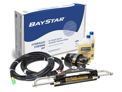 Picture of Baystar compact hydraulic outboard steering system