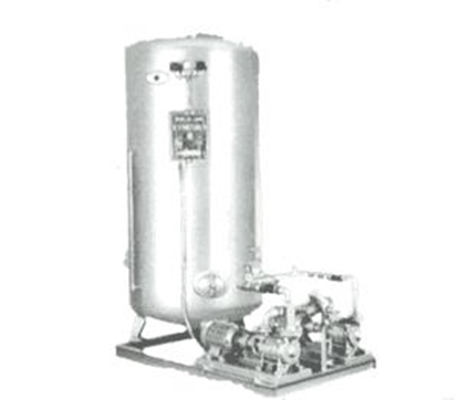Picture of Azcue hydrophore units with galvanized tanks
