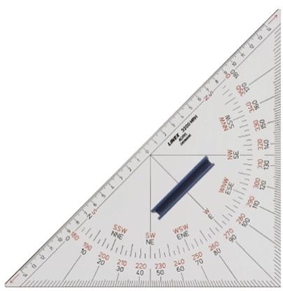 Esquadro 230 mm