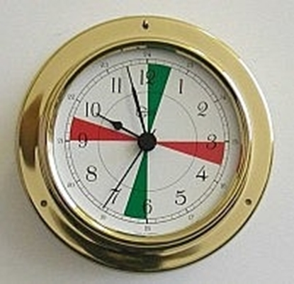 Relógio com sectores Serie Tempo
