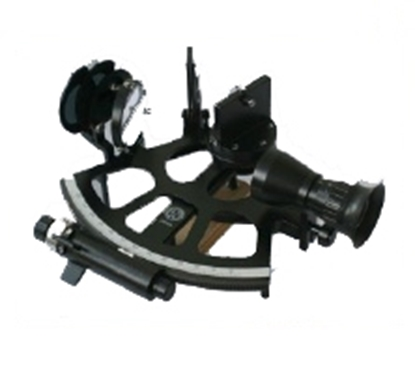 Picture of Freiberger drum sextant - half view mirror