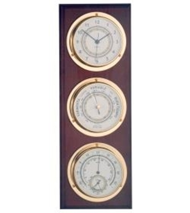 Picture of Nautical weather station clock/barometer/termo-hygrometer