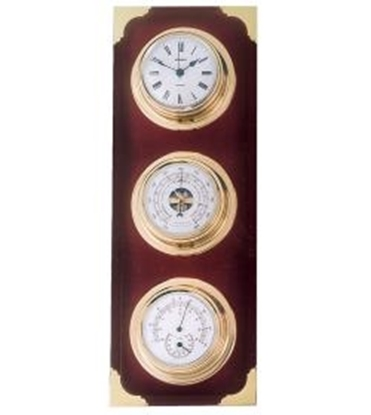Estação meteorológica náutica relógio-barómetro-termo-higrómetro