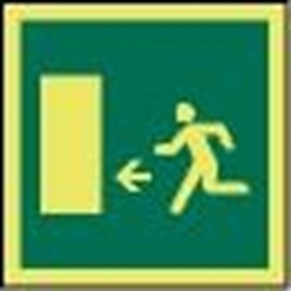 IMO Sign-emergency exit 15x15