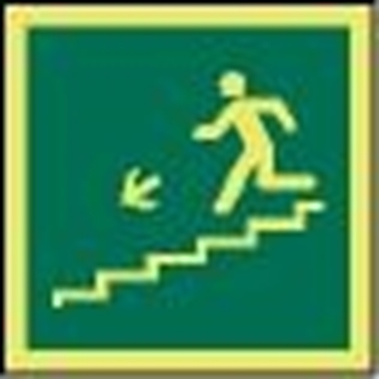 Picture of IMO Sign-emergency stair 15x15