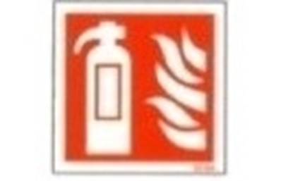 Picture of LLL Sign - fire extinguisher