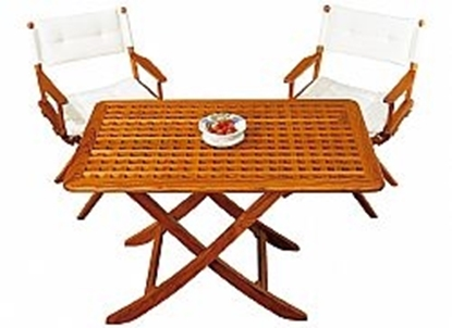 "Picture of Folding teak table ""Mallorca"""