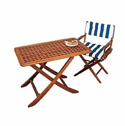 Picture of Folding teak table Ibiza
