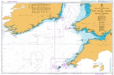 BRITISH ISLES, WESTERN APPROACHES TO SAINT GEORGE S CHANNEL AND