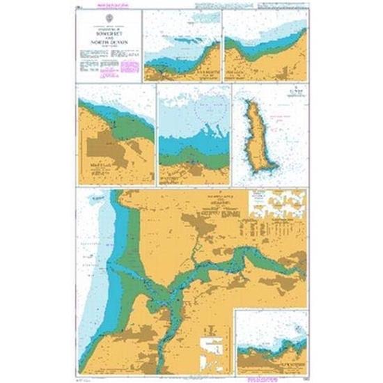 ENGLAND - BRISTOL CHANNEL / Harbours in Somerset and North Devon