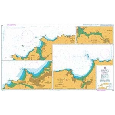 ENGLAND - WEST COAST / Harbours on the North Coast of Cornwall