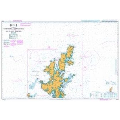 BRITISH ISLES / Northern Approaches the Shetland Islands