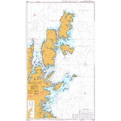 BRITISH ISLES - SHETLAND ISLANDS / North-East Sheet