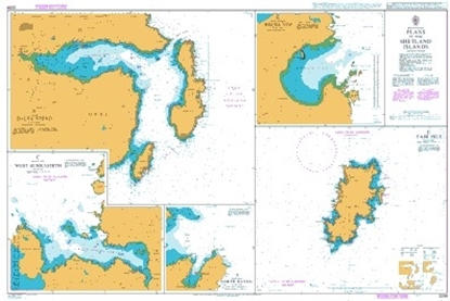 Picture of BRITISH ISLES,PLANS IN THE SHETLAND ISLANDS