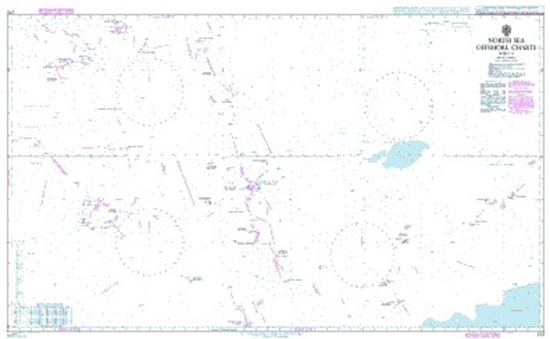 Picture of  NORTH SEA OFFSHORE CHART-SHEET 8