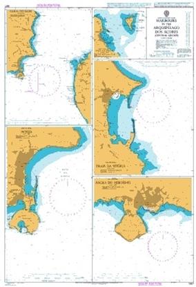 NORTH ATLANTIC OCEAN - Harbours in the Arquip. Açores (Central)