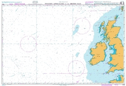 Picture of NORTH ATLANTIC OCEAN - WESTERN APPROACHES TO THE BRITISH ISLES