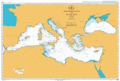 Picture of  MEDITERRANEAN AND BLACK SEAS