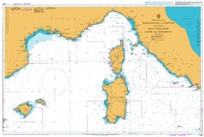 Picture of  MEDITERRANEAN SEA,BARCELONA TO NAPOLI INCL.ISLAS BALEARES