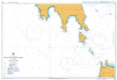 Picture of  MEDITERRANEAN SEA,WESTERN APPROACHES TO THE AEGEAN SEA