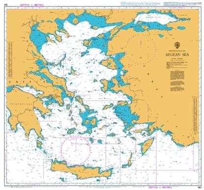 Picture of  MEDITERRANEAN SEA.AEGEAN SEA
