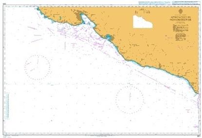 BLACK SEA-U.S.S.R.,APP.TO NOVOROSSIYSK