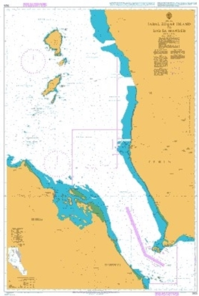 Picture of  JABAL ZUQAR ISLAND TO STRAITS OF BAB-EL-MANDEB