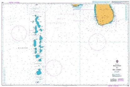 INDIAN OCEAN,MALDIVES TO SRI LANKA