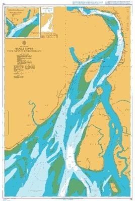 Picture of  INDIA-E.COAST, HUGLI RIVER, SAGAR ROADS TO KUKRAHATI REACH