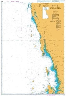 Picture of ANDAMAN SEA -BURMA, HEINZE ISLANDS TO MERGUI