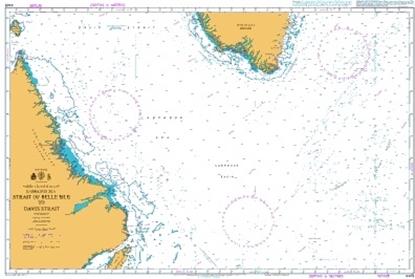 NORTH ATLANTIC OCEAN - LABRADOR SEA / Strait of Belle Isle