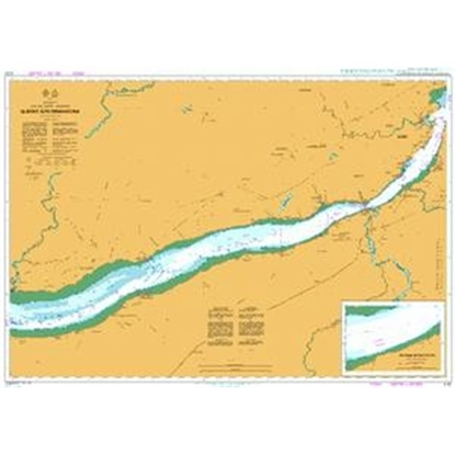 Picture of CANADA - QUEBEC / Fleuve Saint Laurent - Quebec a/to Donnacona
