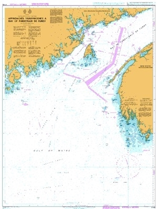 Approaches to Bay of Fundy