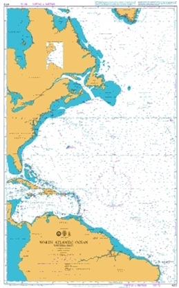 Picture of NORTH ATLANTIC OCEAN / WESTERN PART