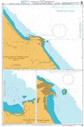 Ports on the Caribbean Coast of Costa Rica
