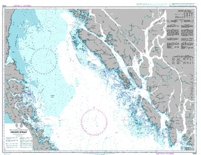Picture of British columbia Hecate Strait