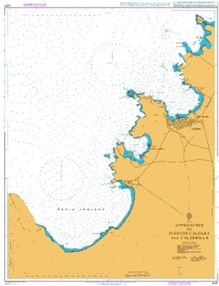 Approaches to Puertos Caldera and Calderilla
