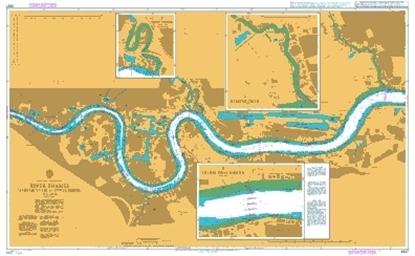 ENGLAND - EAST COAST / River Thames-Margaret Ness/Tower Bridge