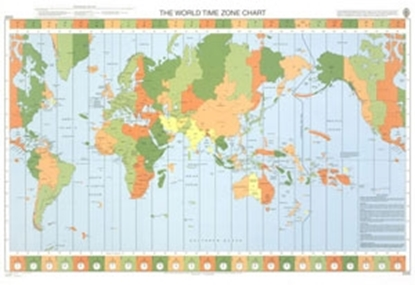 Picture of THE WORLD TIME ZONE CHART