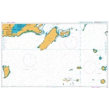 SOUTH PACIFIC OCEAN - FIJI / Koro Island to Northern Lau Group