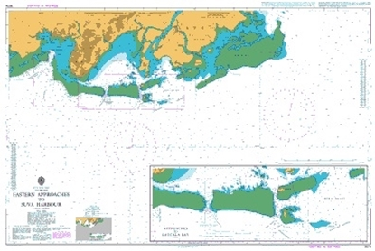 SOUTH PACIFIC OCEAN - FIJI ISLANDS/Eastern Appr. to Suva Harbour