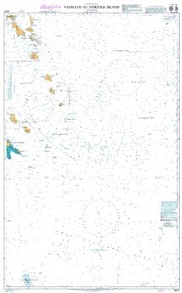 SOUTH PACIFIC OCEAN / Vanuatu to Norfolk Island