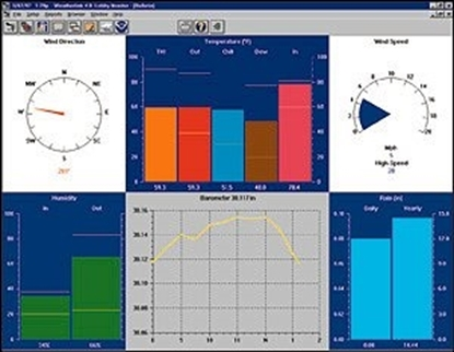 Software WeatherLink para windows
