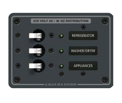 Picture of Electric panel 3 circuits - 8A